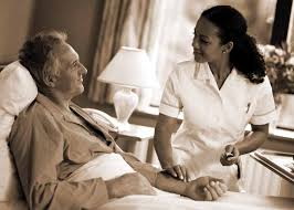 nursing care while in hospital or outpatient